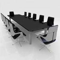 Meeting Room Furniture 02